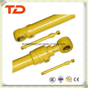 Doosan Dh60-7 Bucket Cylinder Hydraulic Cylinder Assembly Oil Cylinder for Crawler Excavator Cylinder Spare Parts