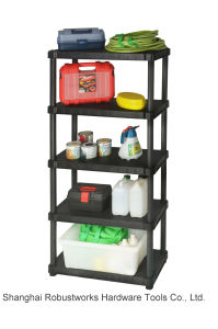3 Tiers Resin Storage Shelving Unit (6030P-3T) pictures & photos