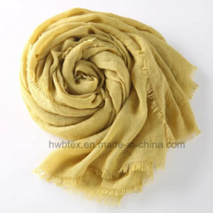 Colorful Linen Cotton Spring-Autumn Shawl / Unisex Scarf (HWBLC04) pictures & photos