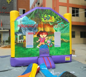 Dora Inflatable Bouncer, Inflatable Dora Bouncy Castle