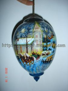 Inside Painted Glass Ball pictures & photos