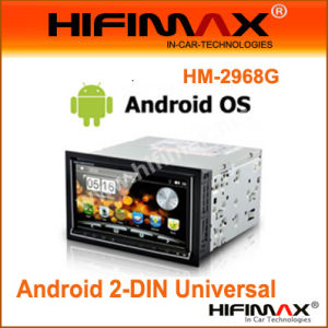 China 2 Din 7 Inch Android 2 3/WINCE Dual-Boot 4GB Car DVD