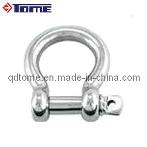 Stainless Steel European Type Bow Shackle with Screw Pin pictures & photos