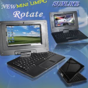 7 Inch Laptop with 360 Rotate and Touch Screen (Optional) (UMPC-7002)