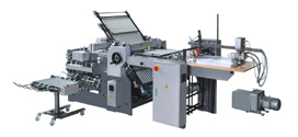 Electric Control Knife Folding Machine (ZYHD680)