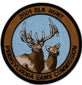Embroidered Emblem-Hunting pictures & photos