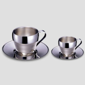 Elegant Stainless Steel Coffee Cup 60c. C., 180c. C. pictures & photos