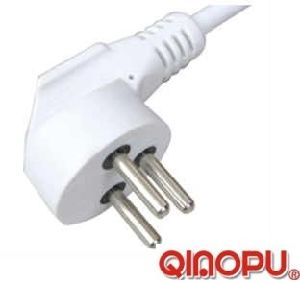 Israel Power Cord with 3 Pin Plug (JY-17)