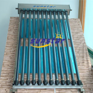 Flat Solar Collector Glass Heat Pipe Tubes pictures & photos
