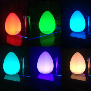 Color Changing LED Magic Egg Night Light for Home Decoration pictures & photos