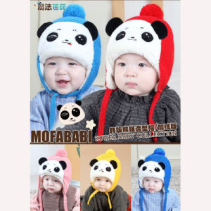 f1e4beea3a81a Baby Hat Autumn/Winter 1-3-6-Year-Old South Korean Male and Female  Children′s Knitted Ear Cap Baby Warm Hair Hat