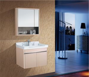 China Cheap Price Sanitary Ware Stainless Steel Wallmount Modern Bathroom Vanity Cabinet As 1133 China Bathroom Cabinet Bathroom Vanity