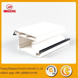 Hot Sell Co-Extrusion PVC Door Window Profile, Plastic PVC Profile