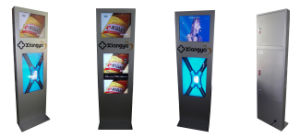 19 Inch and 26 Inch Dual Screen Floor Standing LCD Ad Player (SY-F019/026)