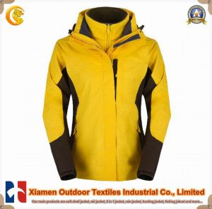 Woman Outdoor Warm Windproof Sport Jacket (JK2111)