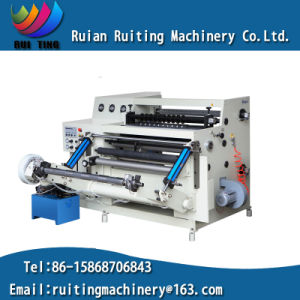 Rtfq-900/1600b Automatic Paper PVC Roll Slitting Rewinding Machine pictures & photos