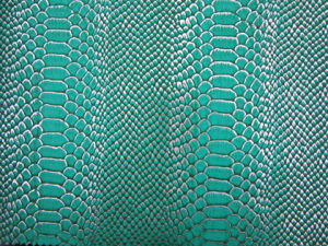 Snake Pattern Synthetic Leather for Bags and Shoes (HX1424) pictures & photos