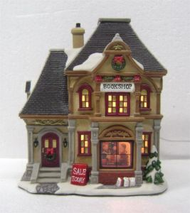 Christmas Village Houses.Christmas Village House