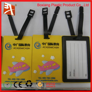 Convenient and Beautiful Soft PVC Luggage Tag