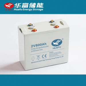 2volt Solar Battery 2V 800ah Gel Battery with Ce Certification pictures & photos