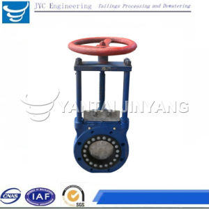 Cast Steel Knife Gate Valve for Tailings, Sand Slurry etc.