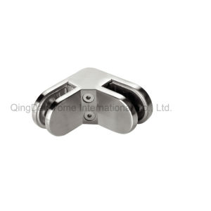 90 Degree D Type Glass Clamp- Round Type pictures & photos