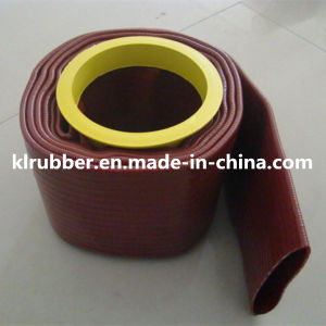 PVC Discharge Water Layflat Hose for Garden pictures & photos