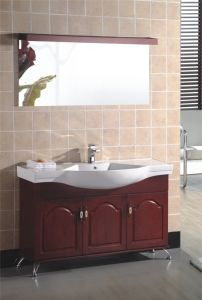 Oak Bathroom Cabinet Wooden Bathroom Vanity (810)