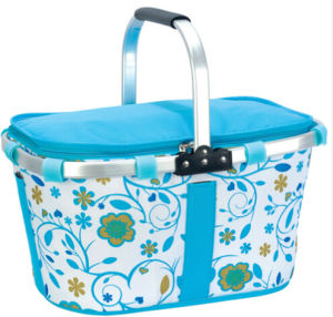 Foldable Picnic Basket Collapsible Picnic Basket pictures & photos