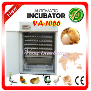 CE Approved Stainless Steel Va-1056 Hold 1000 Duck Eggs Cheap Duck Egg Incubators for Sale pictures & photos