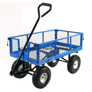 High Quality Steel Meshed Garden Cart\ Garden Tool pictures & photos