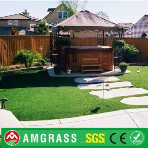 Colored Landscaping Cheap Synthetic Grass Artificial Turf for Garden Decor