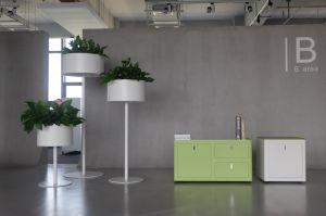 office flower pots. Uispair 100% Steel Floor Round Planter Flower Pot For Modern Office Garden Decoration Pots F