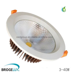 8 Inch 40W 200mm Hole Size Commercial COB LED Downlight with High Lumen pictures & photos