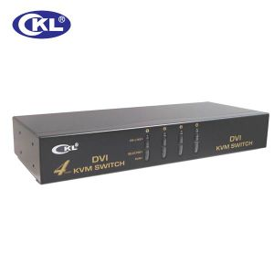 4 Port DVI Kvm Switch