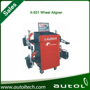 Auto Computer Wheel Alignment Launch X-631+ Original X631 Plus 3D Wheel Aligner pictures & photos