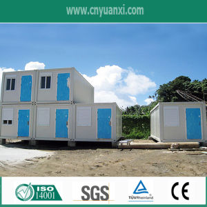 Angola Prefabricated Container House for Relief House