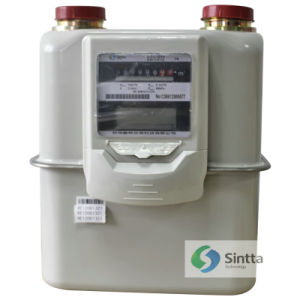 IC Card Industrial Gas Meter CG-L-G10 (BUILT-IN VALVE)