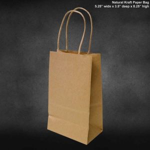 Navy Blue Kraft Paper Bags Ping Mechandise Party Gift Vertical Bag