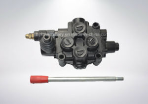 Manual Control Hydraulic Monoblock Selector Cartridge Spool Valve for Tractor