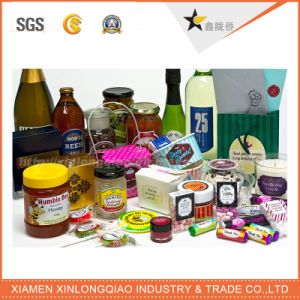 Customized Printed Self Adhesive Label Printing Paper Stickers Bottle Sticker pictures & photos