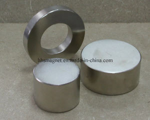 Neodymium Cylinder Magnet for Permanent Magnetic Separator pictures & photos