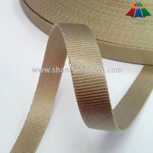 1/2 Inch High Quality Golden Nylon Webbing for Bags pictures & photos