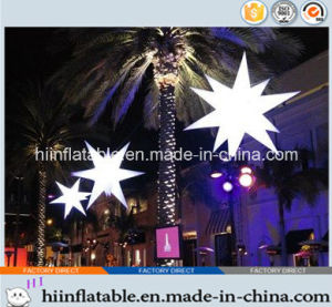 2015 Hot Selling LED Lighting Decorative Inflatable Star 0006