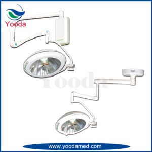Double Head Ceiling Type Shadowless Surgical Lamp pictures & photos