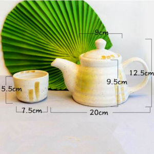 Ceramic Tea Set Ceramic Coffee Set Ceramic Coffee Pot with Cups pictures & photos