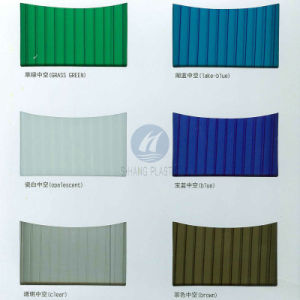China Manufacturer Catalog /Color Chart Polycarbonate Hollow Sheet ...