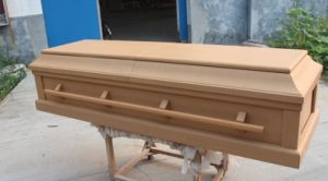 American Style Casket /Economic Wooden Casket & Coffins/Funeral Coffin pictures & photos