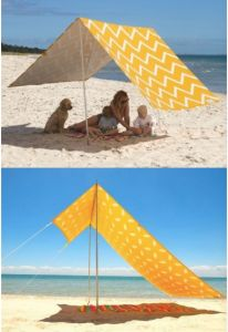 Canvas Beach Sun Shelter Tent (MW5012) pictures & photos
