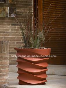China Fo 313 Fiberglass Flower Pot For Home Garden Decorate China